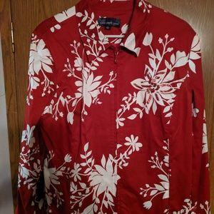 Susan Graver Zip Front Jacket
